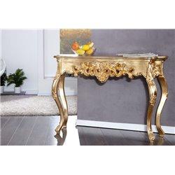 Konzola Venice 110cm zlatá