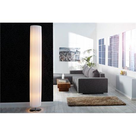 Stojanová Lampa Salone 200 cm biela latex