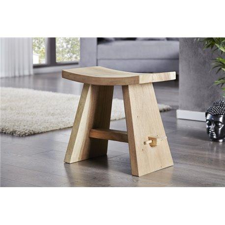 Stolička Zen 50 cm prírodný teak