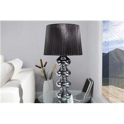 Nočná lampa Mia 68cm čierna-strieborná