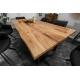 Masívny jedálenský stôl Verge 200cm dub prírodná
