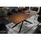 Jedálenský stôl pre 4 a viac osôb Galaxia artwork 200cm agát prírodná octová