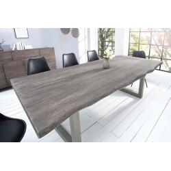 Jedálenský stôl Action 200cm sivý agát 60mm