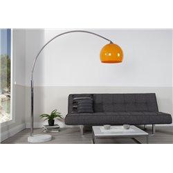 Stojanová Lampa Big Bow II 175-205 cm oranžová