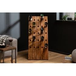 Stojan na víno Hemingway 107cm recyklované drevo