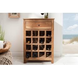 Skrinka na víno Hemingway recyklované drevo