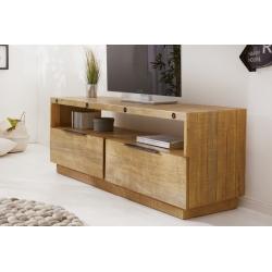TV stolík Quinta 150cm borovica prírodná hnedá