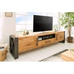 TV stolík Saurus 200cm dub prírodná