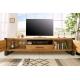 Moderný TV stolík Saurus 200cm dub prírodná