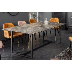 Jedálenský stôl Symbiosis 200 cm keramika mramor