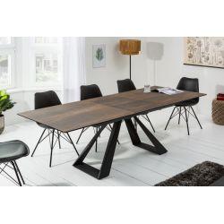 Luxusný jedálenský stôl Concord 180-230 cm keramika dub