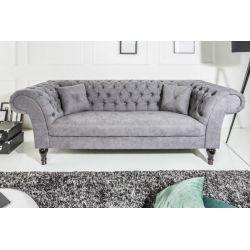 Luxusná pohovka Palais 230 cm šedá