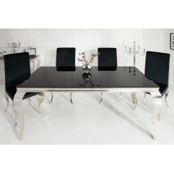 Exkluzívny jedálenský stôl Gilt 180cm čierna