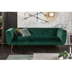 Exkluzívna retro pohovka Empress 225 cm smaragdovozelená