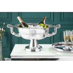 Chladič na šampanské 40 cm streborný