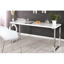 Písací stôl White 140cm