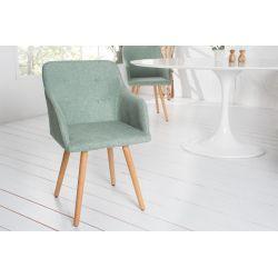 Sada stoličiek Malmo s operadlom zelená (2ks)