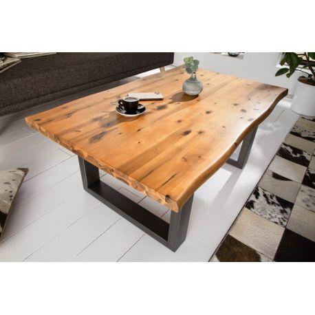 Masívny konferenčný stolík 110 cm