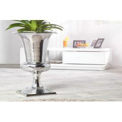 Váza Lordie 75 cm strieborná