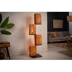 Stojacia lampa Sirocco 154 cm longan s tienidlom
