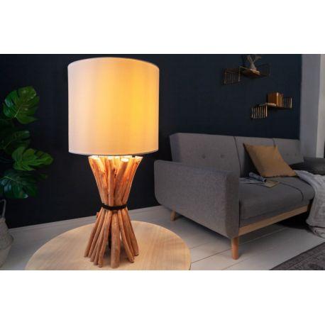 Nočná lampa Sirocco 56 cm longan