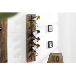 Nástenný stojan na víno Sirocco Verso 100 cm