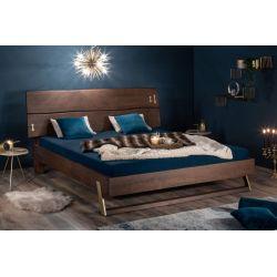 Masívna manželská posteľ Action 180x200 cm akácia