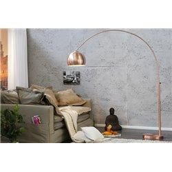 Stojanová Lampa Big Bow 170-210 cm medená