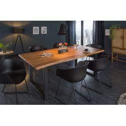 Jedálenský stôl Action 180 cm masív akácia 35 mm hnedý