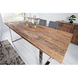 Masívny jedálenský stôl Sirocco Verso 200 cm