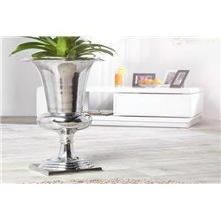 Váza 60 cm strieborná