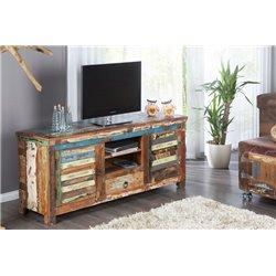 TV Stolík Sumatra 150 cm recyklované drevo