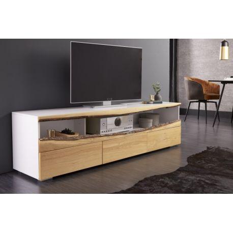 TV stolík na nožičkách Oakland 180 cm dub biely