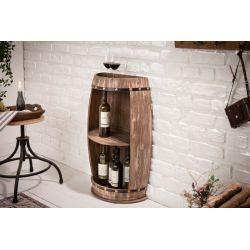 Stojan na víno Chateau 79 cm jedľa prírodná