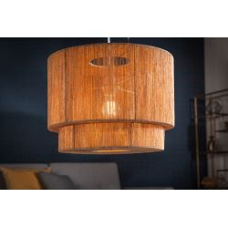 Závesná lampa Paradise 39 cm papierový ratan