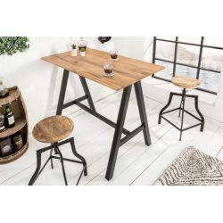 Barový stolík Fortess 120 cm dub