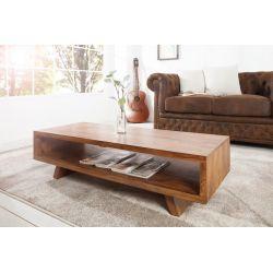 Konferenčný stolík Retro Futurist 110 cm masívny sheesham