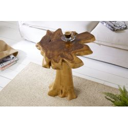 Konferenčný stolík Root 60 cm teak drevo