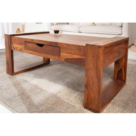 Konferenčný stolík Bartz 100 cm masív sheesham