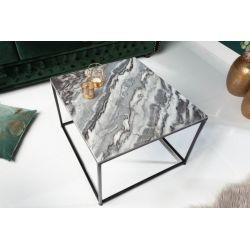 Konferenčný stolík Fusion 50 cm mramor šedá