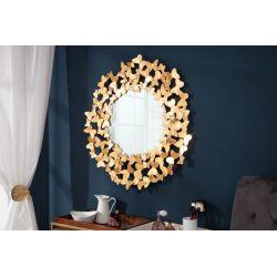 Zrkadlo Butterfly 78 cm kov-hliník zlaté