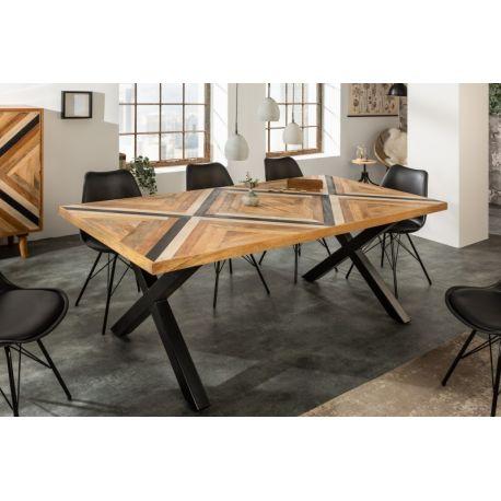 Jedálenský stôl Massali X 160 cm mango