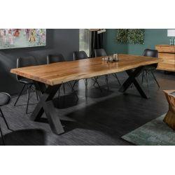Masívny jedálenský stôl Action X 300 cm akácia 60 mm