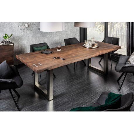 Masívny jedálenský stôl Action Artwork 220 cm akácia 60 mm