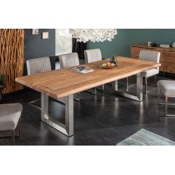 Masívny jedálenský stôl Action Artwork 220 cm akácia 60 mm prírodný