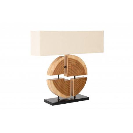 Nočná lampa Artistry 80 cm masív béžová
