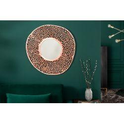 Okrúhle nástenné zrkadlo Folio L 110 cm medené