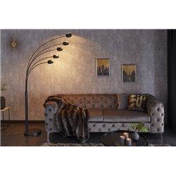 Stojanová Lampa Five Lights čierna/zlatá