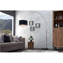 Stojanová lampa Big Bow 180-200 cm čierna