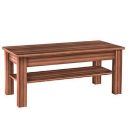 Drevený konferečný stolík Ethan 110 cm hnedý